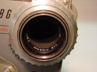 12,5 mm Brennweite eines Standad-Objektivs