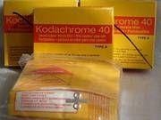 Kodachrome 40 Type A