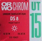Orwo UT 15 DS 8